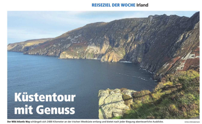 Destination of the Week - Ireland (German)