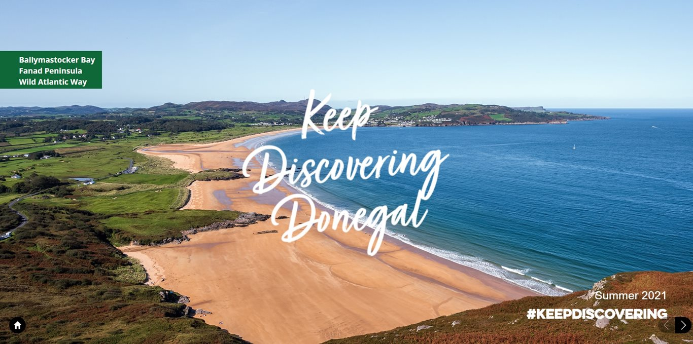 This digital brochure is brought to you by Donegal County Council's Tourism Unit, Go Visit Donegal and Fáilte Ireland.